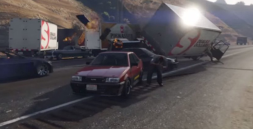 GTA_5_авария