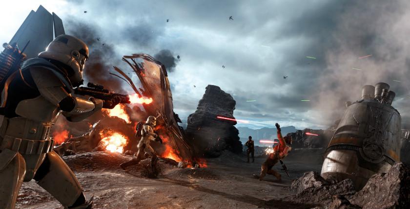 Скриншот Star Wars Battlefront