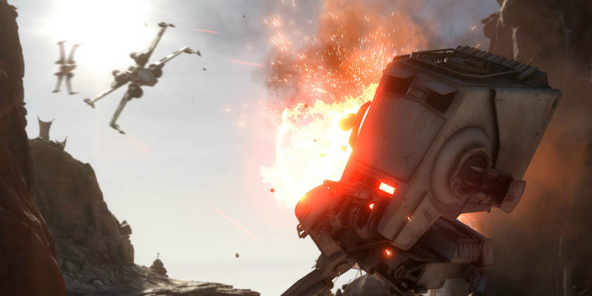 Скриншот Star Wars Battlefront Битва при Джакку