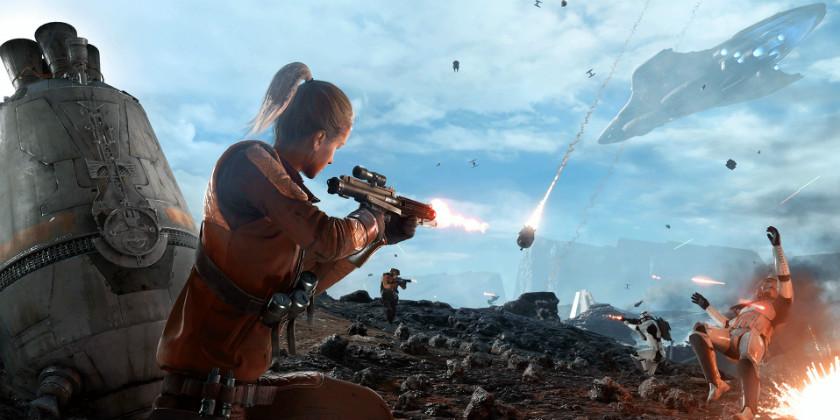 Скриншот Star Wars Battlefront режим Зона выброски