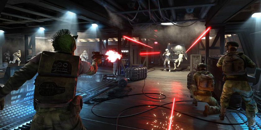 Скриншот Star Wars Battlefront бета