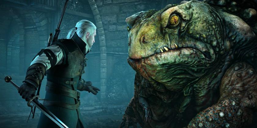 Скриншот Ведьмак 3 Дикая охота дополнение Каменные сердца Монстр