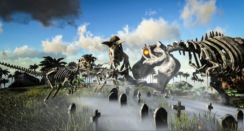 ark-survival-evolved-prigotovila-k-xellouinu-skeletozavrov-i-diplodokov-zombi