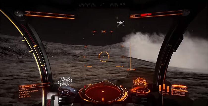 Elite Dangerous планетарная высодка
