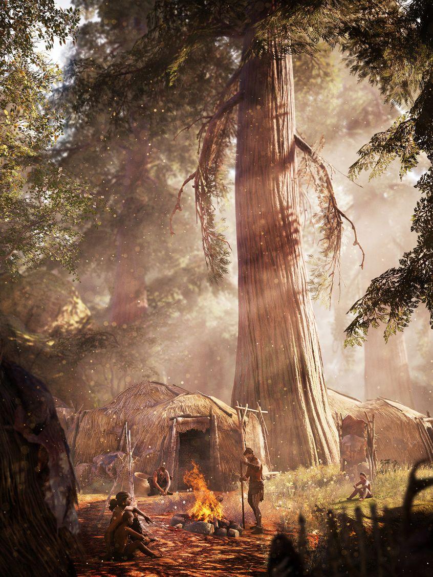 Far Cry Primal деревня