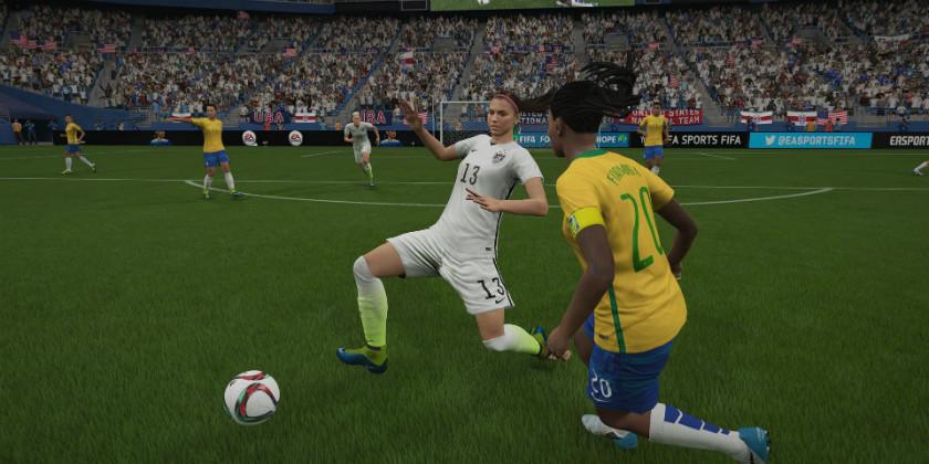 FIFA 16 женщины