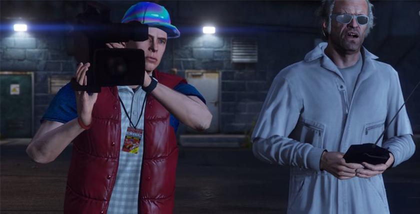 GTA 5 Back to the Future