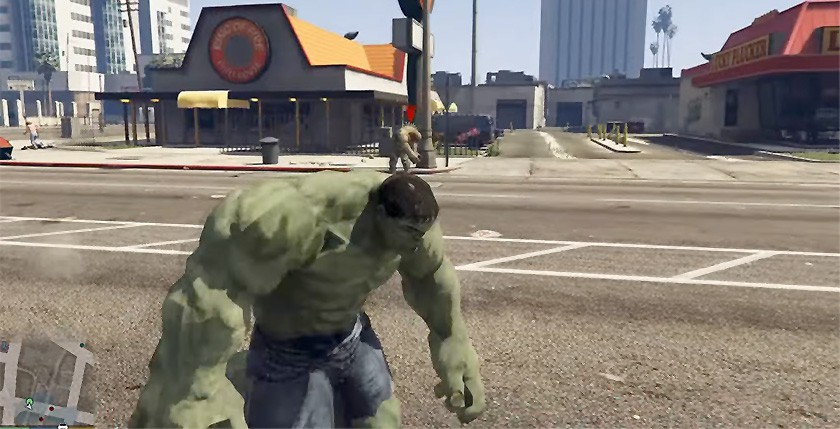 Hulk Script mod