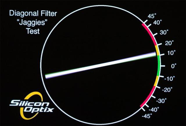 LG PF1500 тест на ступенчатость 1