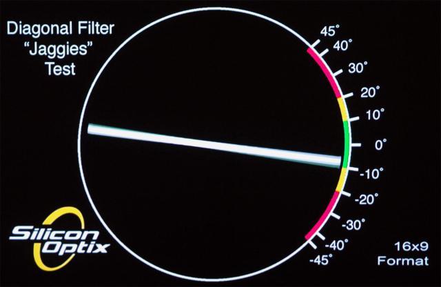 LG PF1500 тест на ступенчатость 2