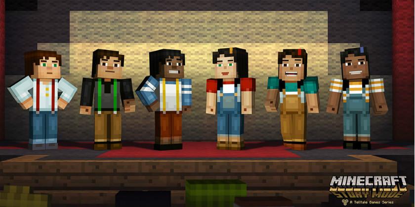 Minecraft: Story Mode персонажи