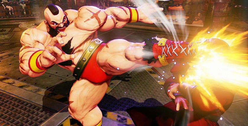 Street Fighter 5 - Зангиев