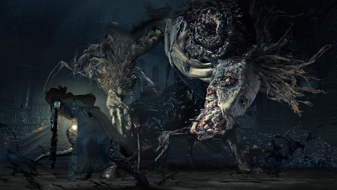 BloodBorne the old hunters скриншот1