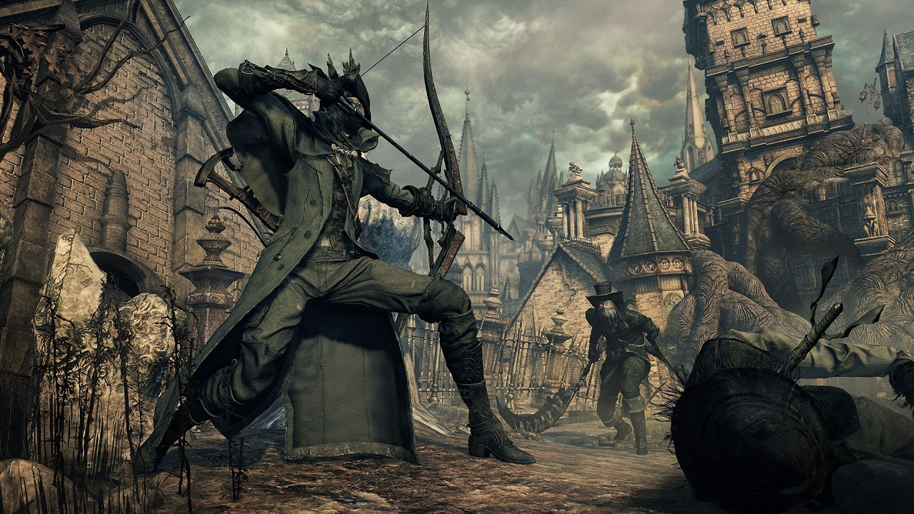 BloodBorne the old hunters скриншот4