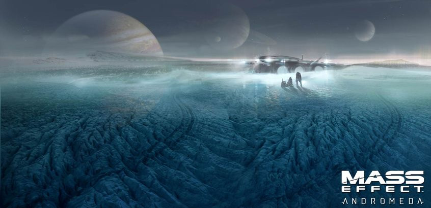 Mass Effect Andromeda скриншот 1