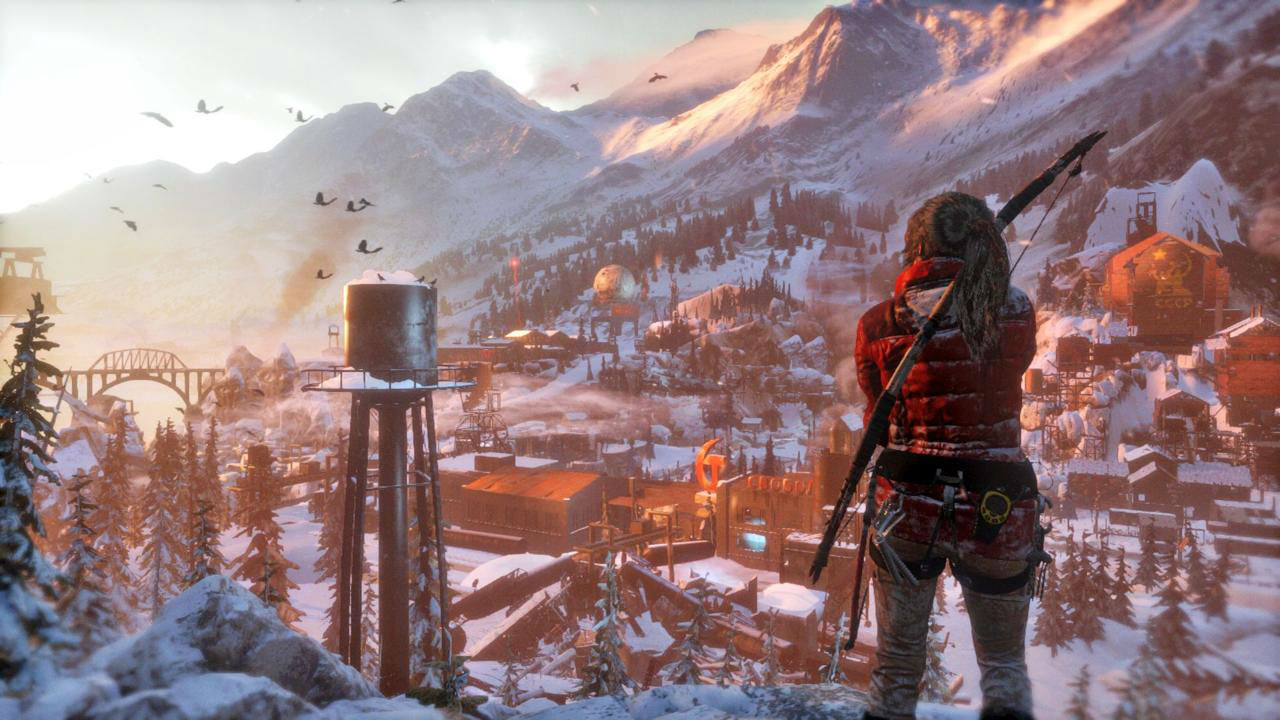 Rise of the Tomb Raider скриншот 2