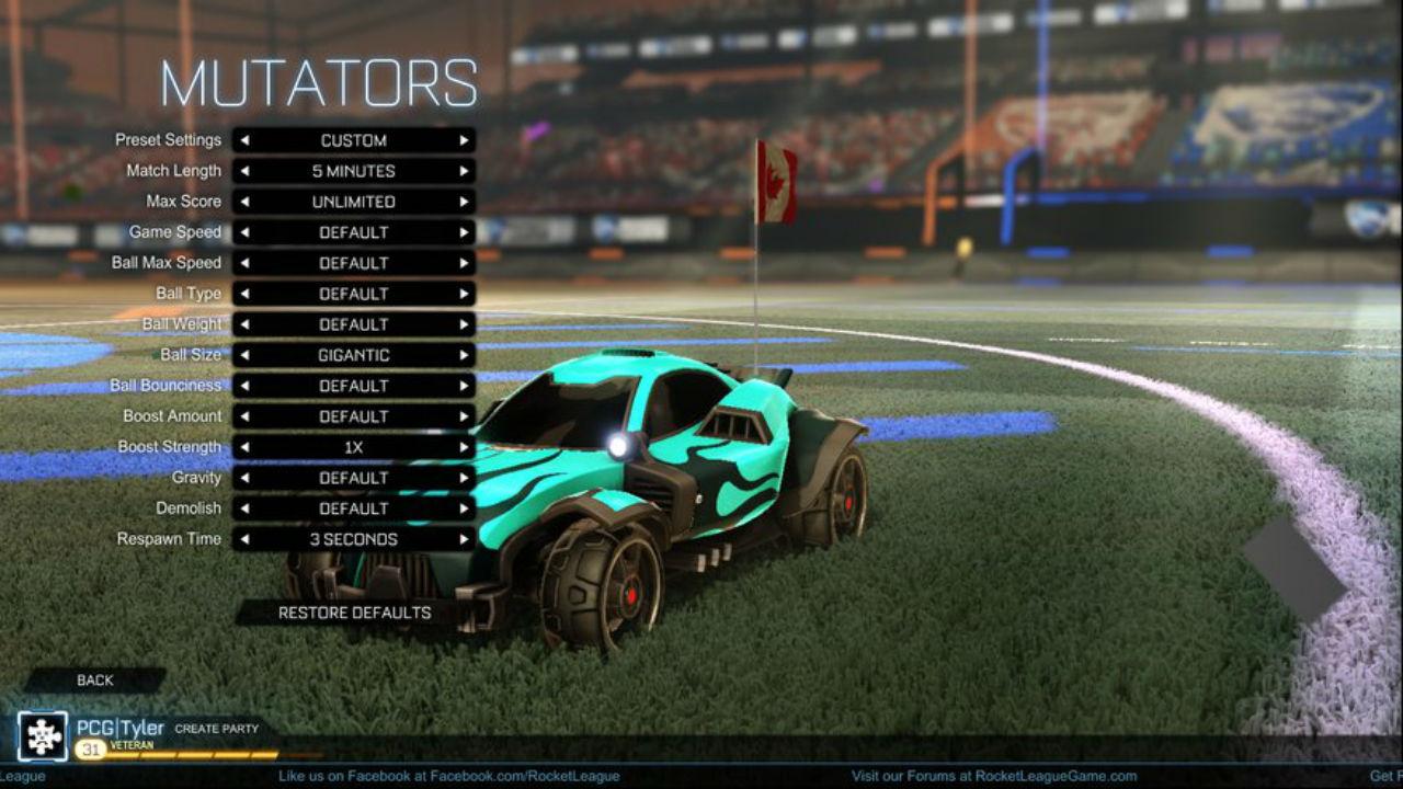 Rocket League скриншот 1