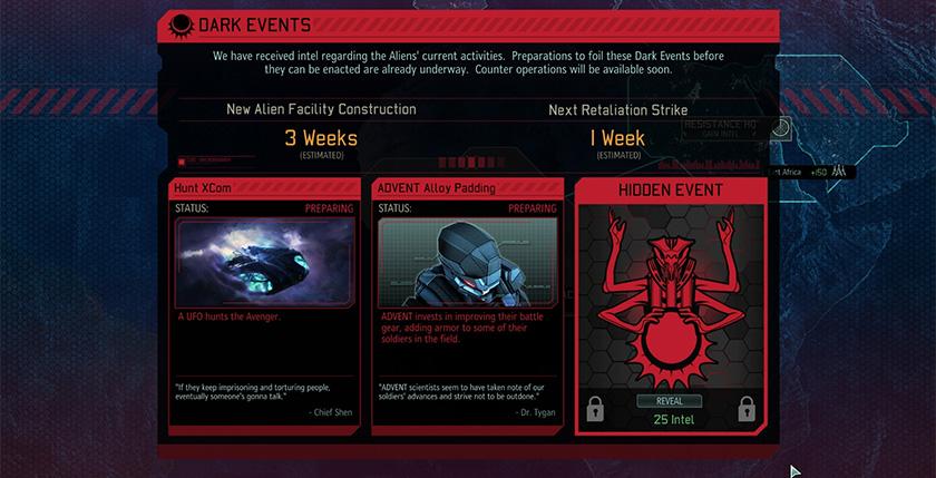 XCOM 2: Dark Events