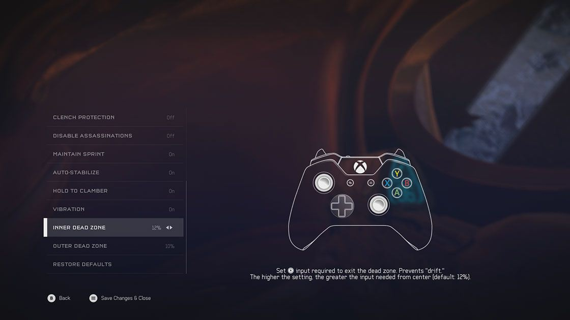 Halo 5 options screenshot 2