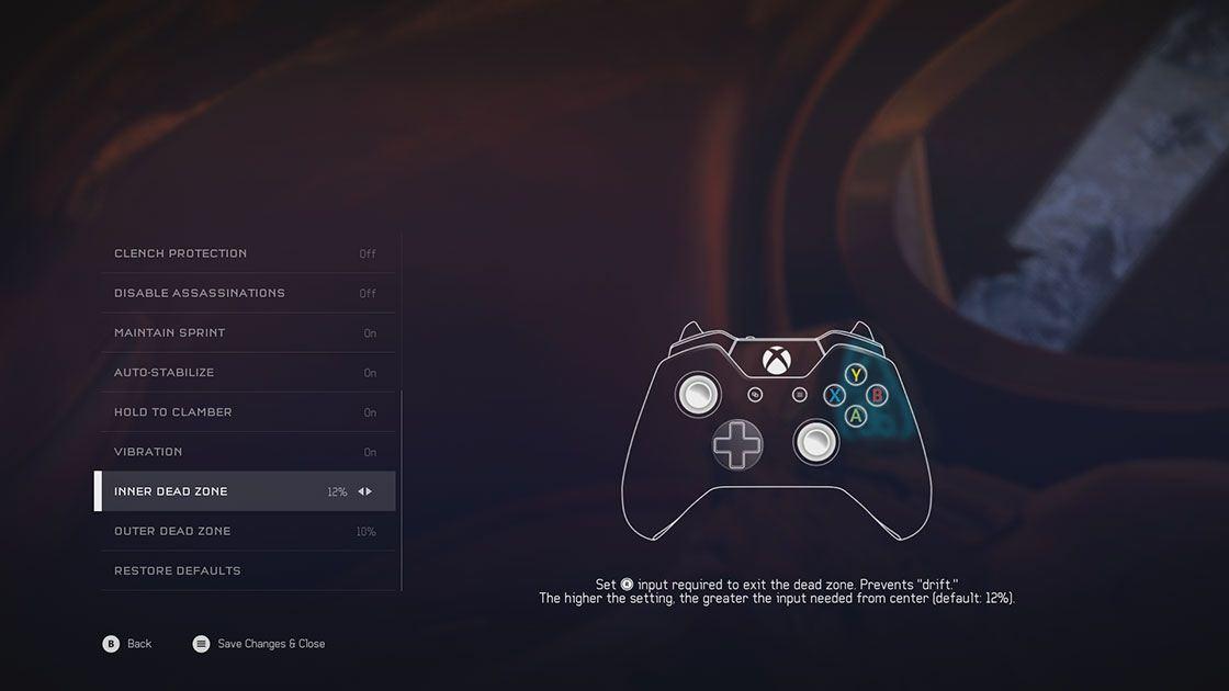 Halo 5 options screenshot 2
