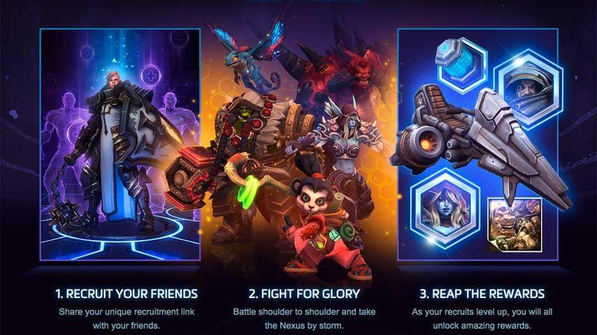 heroes of the Storm screenshot 1
