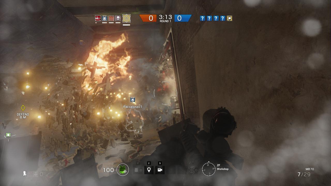 Rainbow Six Siege cкриншот 1