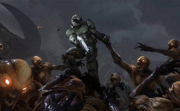 Doom отстрел монстров