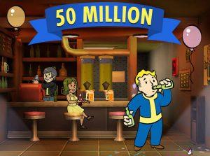 Fallout Shelter развлечение 50 миллионов людей