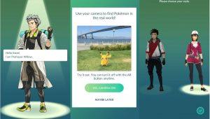 Pokémon Go: начало