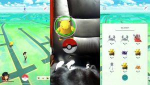Pokémon Go: ловля Покемона