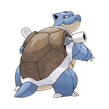 009 Pokemon Blastoise