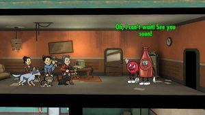 Fallout Shelter c тематическим контентом из Nuka-World