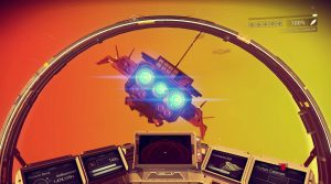 No Man's Sky космический симулятор с видом из кабины