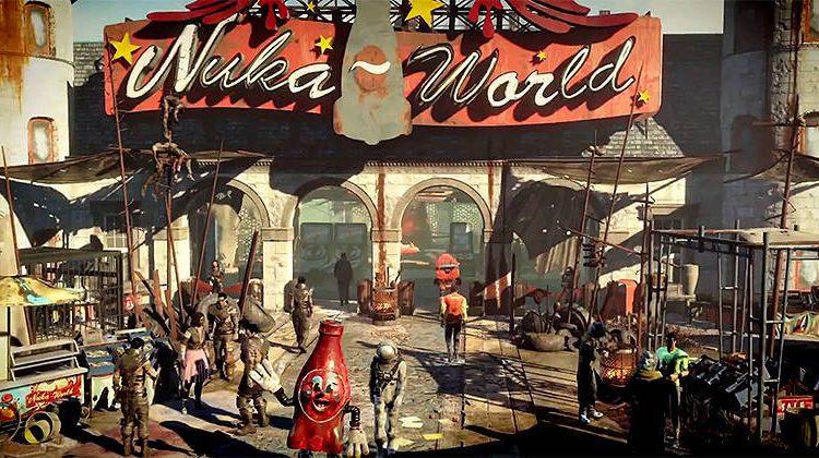 fallout 4 nuka world как начать