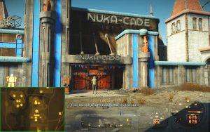 Вход в Nuca Cade Fallout 4 : Nuka World