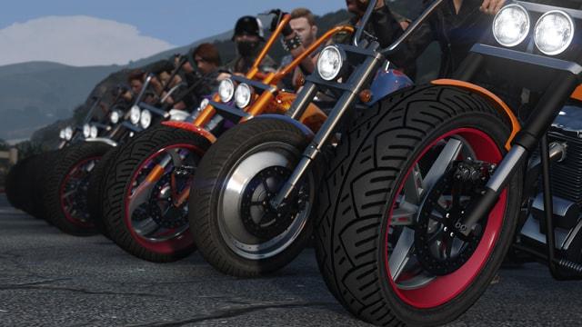 """GTA 5 Online: дополнение """"Байкеры"""""""