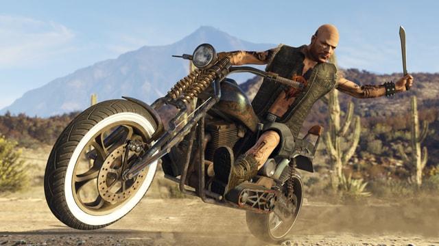"""GTA 5 Online DLC """"Байкеры"""" новое оружие и мотоциклы"""