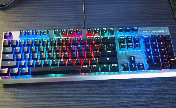Игровая клавиатура Motospeed CK108 c RGB подсветкой