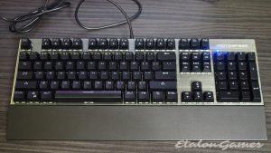 Вид сверху клавиатуры Motospeed CK108
