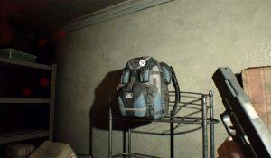 Другой рюкзак спрятан на складе