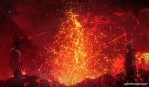 Хэйхати и Кадзуя сталкиваются в карьере огненной реки