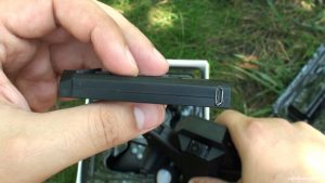 MicroUsb порт аккумулятора VISUO XS809HW