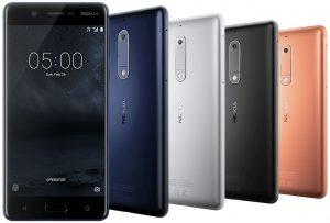 Красивый смартфон Nokia 5