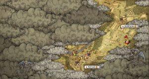 Карта, где находятся лагеря углежогов