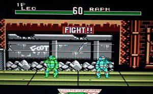 Скриншот из игры TMNT