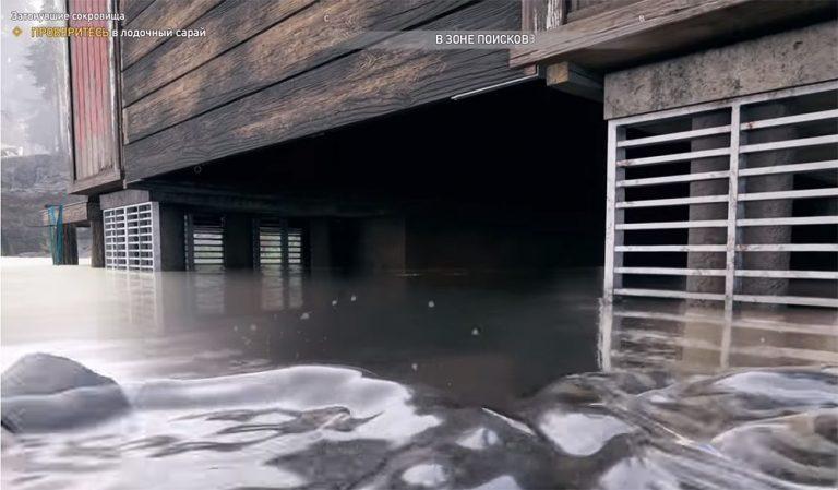 Лодочный сарай на озере Сильвер