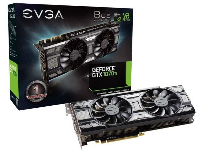 Видеокарта EVGA GTX 1070 Ti SC GAMING