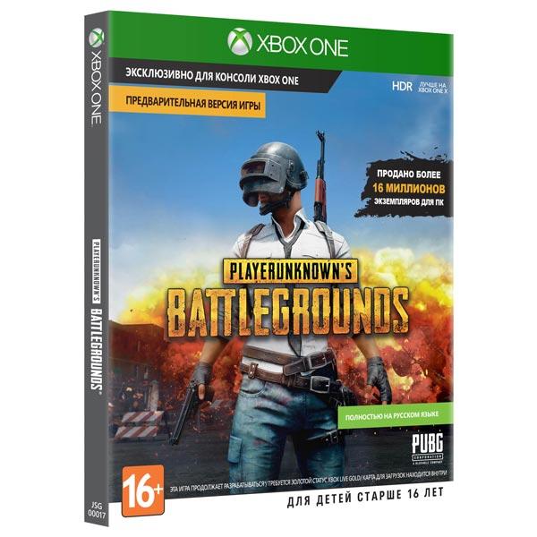 Видеоигра для Xbox One Microsoft PlayerUnknown's Battlegrounds Предварит.версия