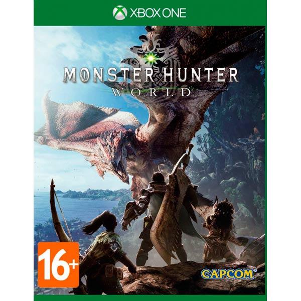 Видеоигра для Xbox One . Monster Hunter: World