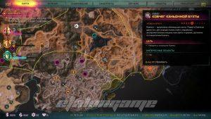Карта Ковчега каньонной бухты с Дефибриллятором